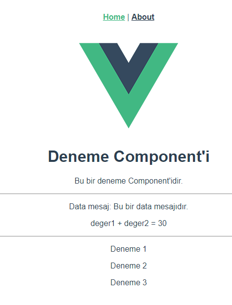 Vue.Js Data Array v-for Kullanımı